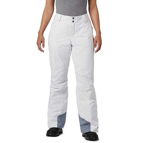 Columbia Bugaboo Omni-Heat Womens Ski Pants, White, 600