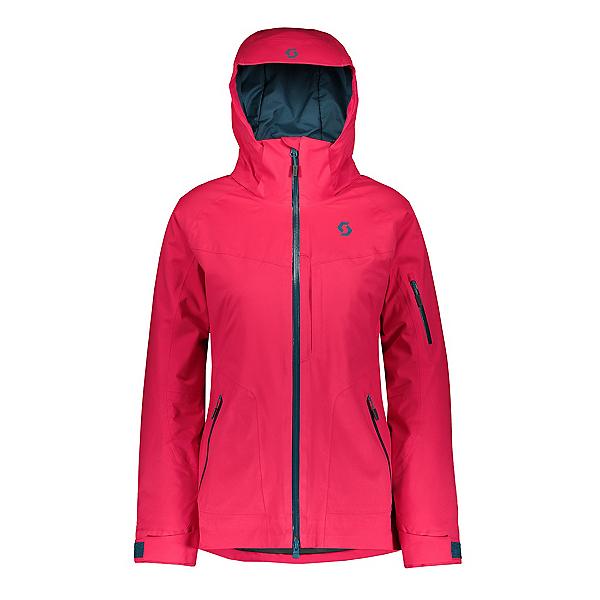 Scott Ultimate Dryo 30 Womens Insulated Ski Jacket, Hibiscus Red, 600