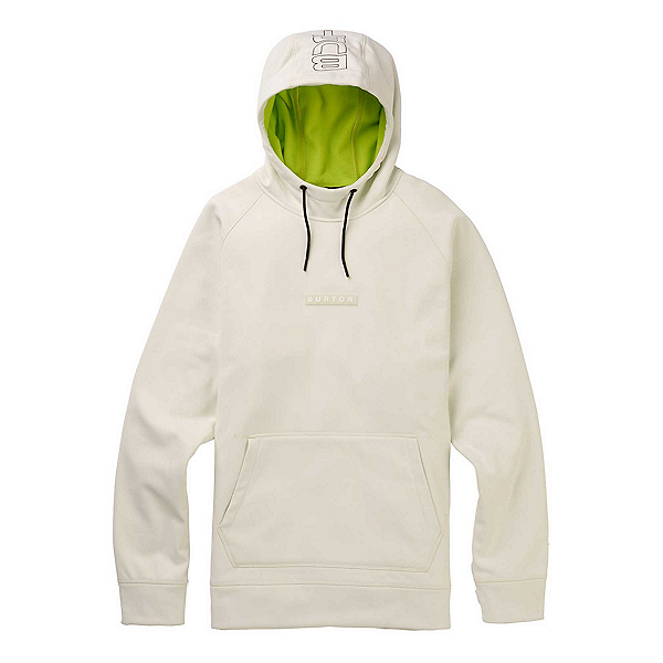 Burton Crown Bonded Pullover Mens Hoodie 2020, Stout White, 600