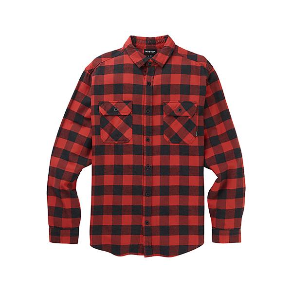Burton Brighton Flannel Shirt, Tandori Heather Buffalo, 600