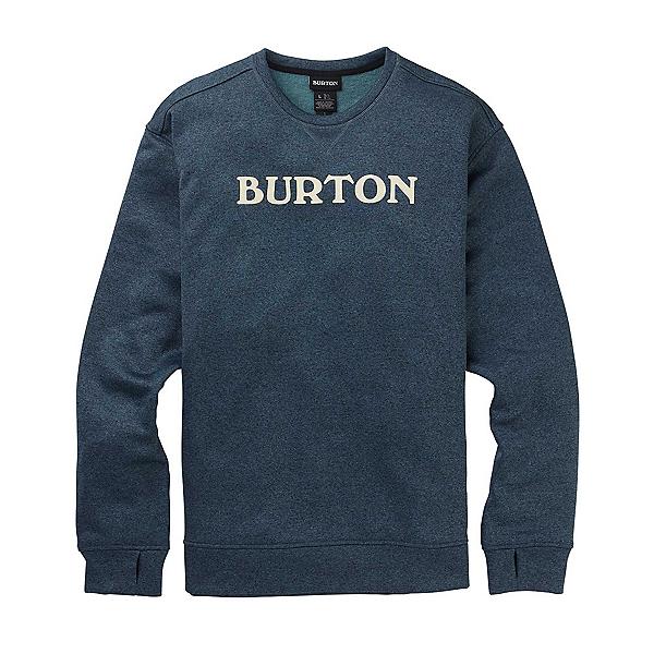 Burton Oak Crew Sweatshirt, Dress Blue Heather, 600