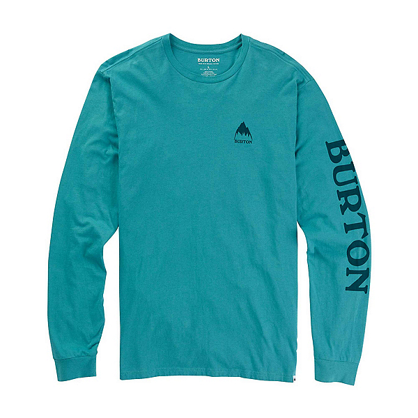 Burton Elite Long Sleeve Mens Shirt, Green Blue Slate, 600
