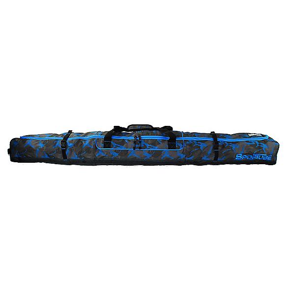 Sportube Traveler Ski Bag 2020, Blue Camo, 600