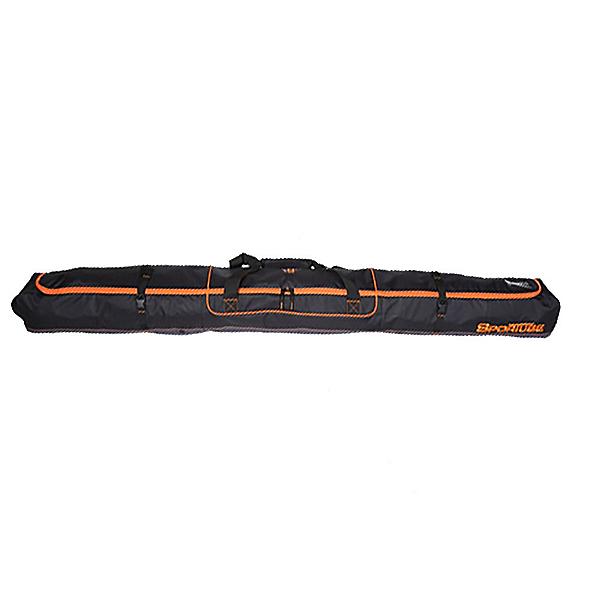 Sportube Traveler Ski Bag 2020, Black-Orange, 600