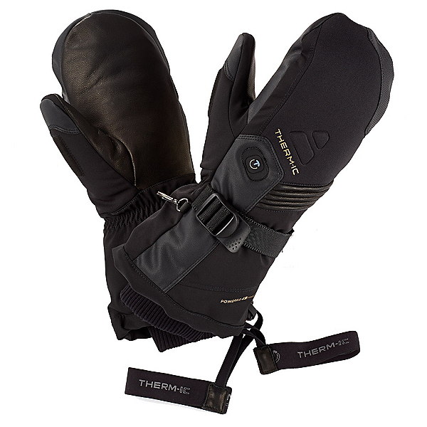 Therm-ic Ultra Heat Mitt Heated Gloves and Mittens, Black, 600