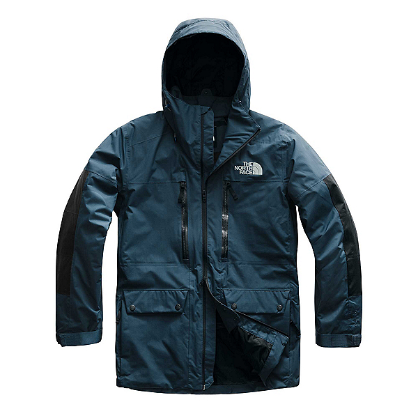 The North Face Goldmill Parka Mens Insulated Ski Jacket, Blue Wing Teal, 600