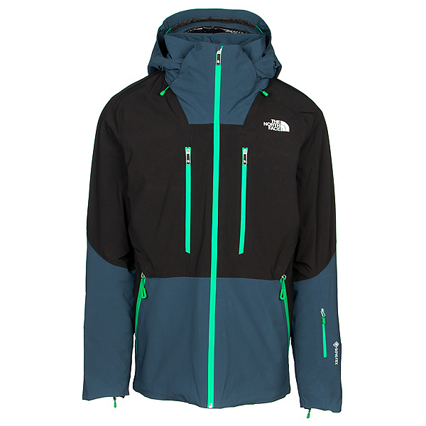 The North Face Anonym Mens Insulated Ski Jacket, TNF Black-Blue Wing Teal, 600