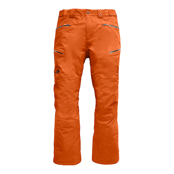 The North Face Sickline Mens Ski Pants (Previous Season) 2020, Papaya Orange, 600