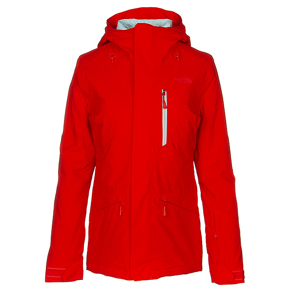 The North Face ThermoBall Snow Triclimate Womens Insulated Ski Jacket, Fiery Red, 600
