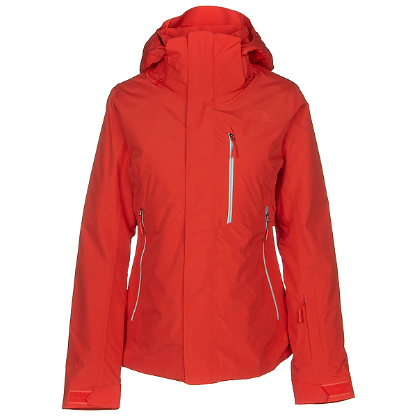 The North Face Garner Triclimate Womens Insulated Ski Jacket, Fiery Red, 600