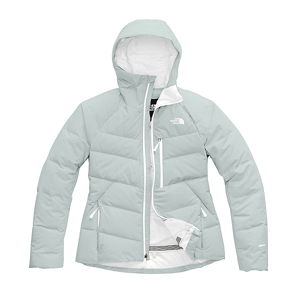The North Face Heavenly Down Womens Insulated Ski Jacket (Previous Season) 2020, High Rise Grey, 600