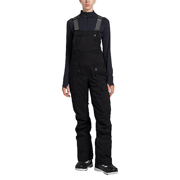 The North Face Freedom Bib Womens Ski Pants, TNF Black, 600