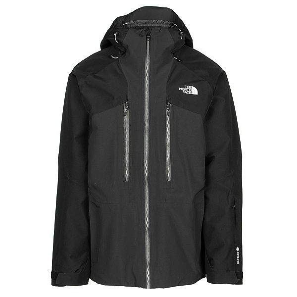 The North Face Powderflo Mens Shell Ski Jacket, TNF Black, 600