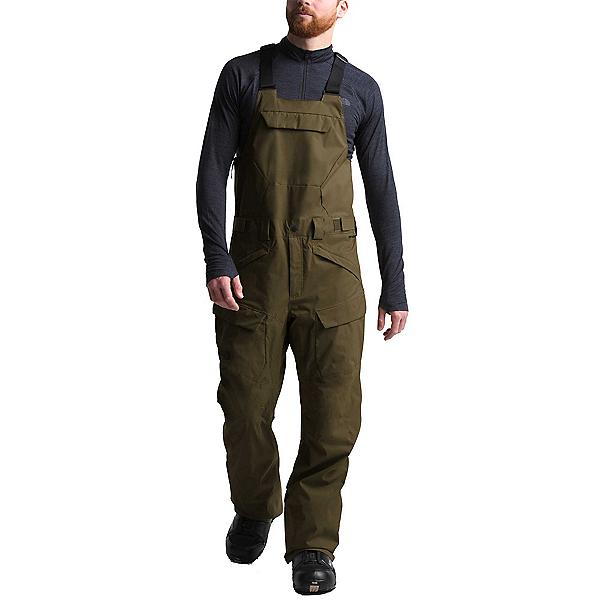 The North Face Freedom Bib Mens Ski Pants, Military Olive, 600