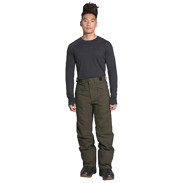 The North Face Freedom Insulated - Long Mens Ski Pants, New Taupe Green, 600