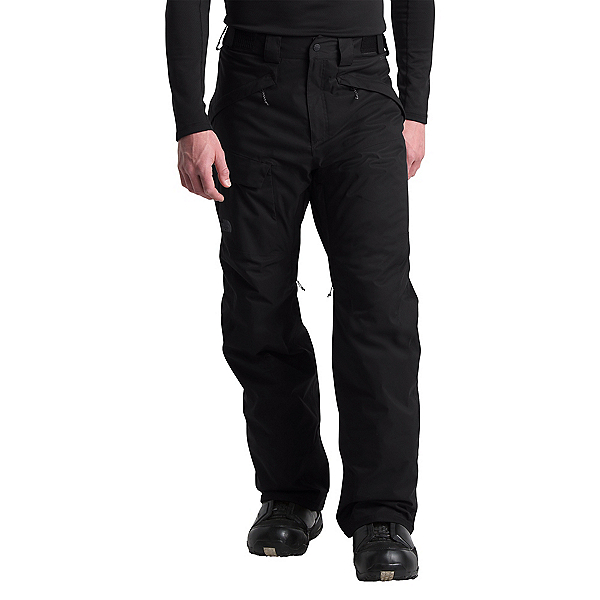 The North Face Freedom Insulated - Short Mens Ski Pants, TNF Black, 600