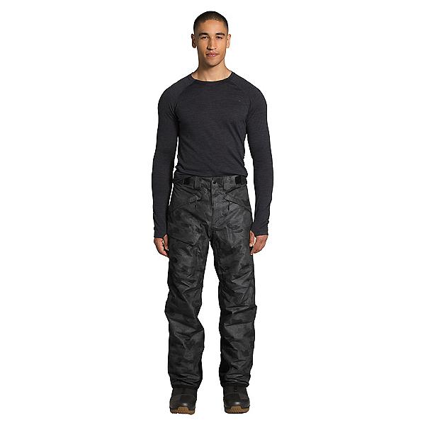 The North Face Freedom Insulated - Short Mens Ski Pants, TNF Black Tonal Duck Camo Prin, 600