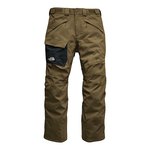 The North Face Freedom Mens Ski Pants, Military Olive, 600