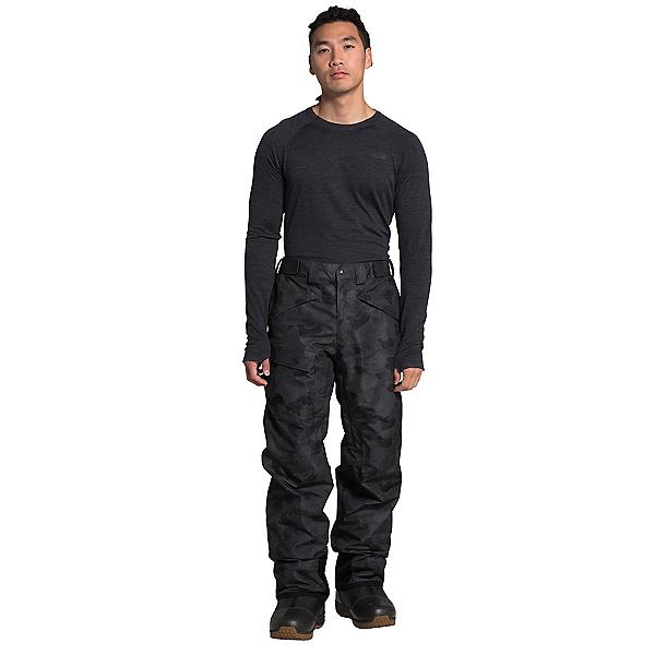 The North Face Freedom Mens Ski Pants, TNF Black Tonal Duck Camo Prin, 600