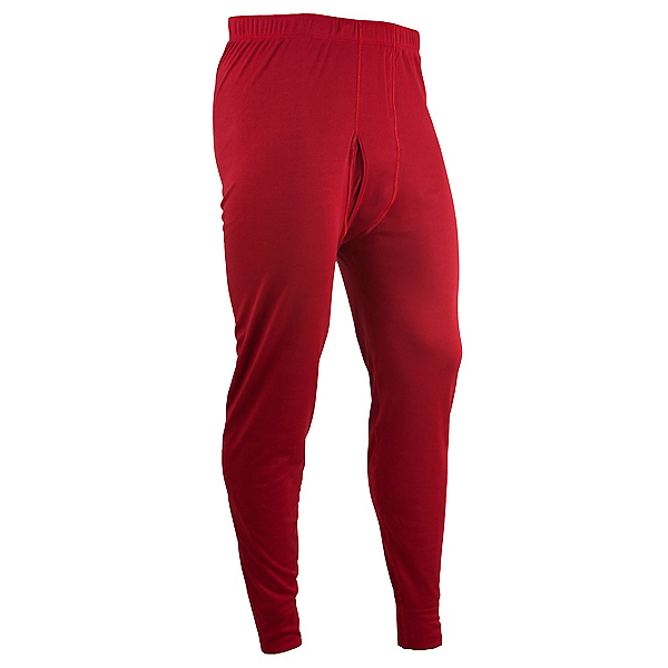 PolarMax Double Layer Pant Mens Long Underwear Pants, Brick, 600