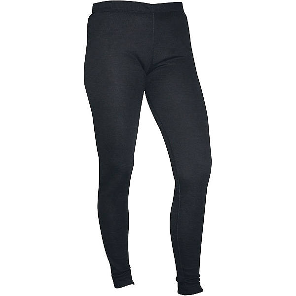 PolarMax Montana Wool Womens Long Underwear Tights, Black, 600