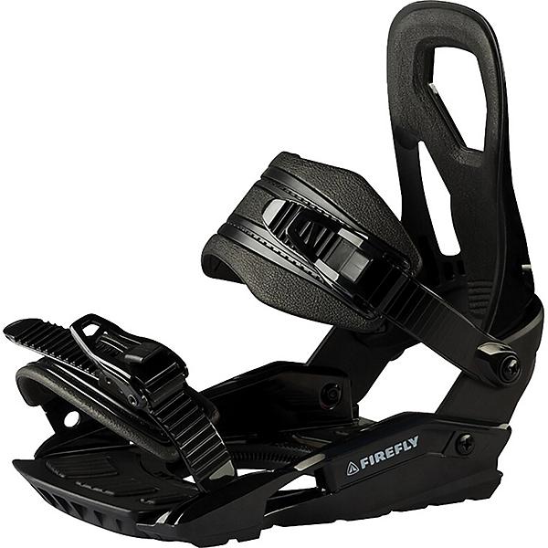 Firefly RX 180 Snowboard Bindings, Black, 600