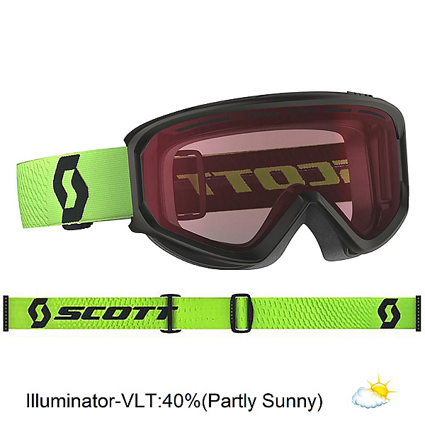 Scott Fact Goggles, Green-Illuminator, 600