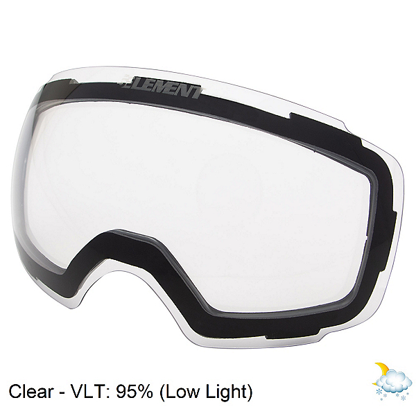 5th Element Stealth M Goggle Replacement Lens, Clear, 600
