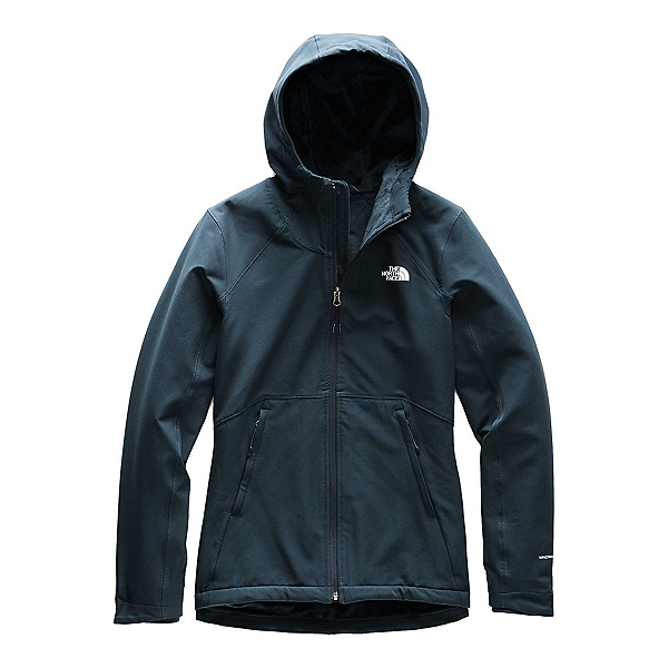 The North Face Shelbe Raschel Hoodie Womens Soft Shell Jacket, Urban Navy, 600