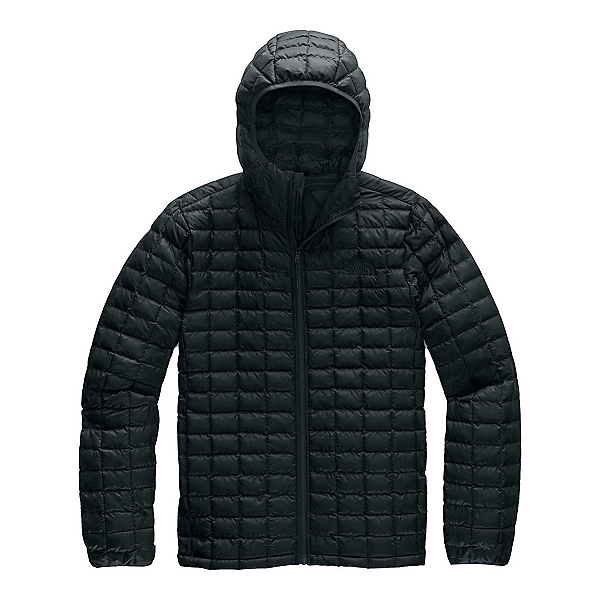 The North Face ThermoBall Eco Hoodie Mens Jacket, TNF Black Matte, 600
