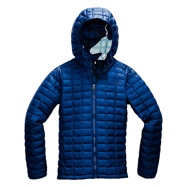 The North Face ThermoBall Eco Hoodie Womens Jacket, Flag Blue Matte-Flag Blue Rom, 600
