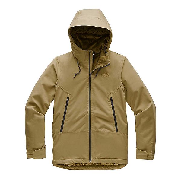 The North Face Inlux Womens Insulated Ski Jacket, British Khaki Herringbone, 600