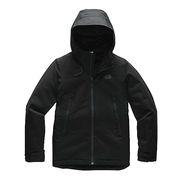 The North Face Inlux Womens Insulated Ski Jacket (Previous Season) 2020, TNF Black Herringbone, 600