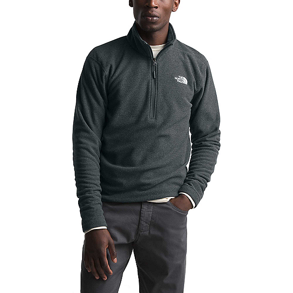 The North Face Textured Cap Rock 1/4 Zip Mens Mid Layer, , 600