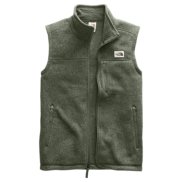 The North Face Gordon Lyons Mens Vest, New Taupe Green Heather, 600