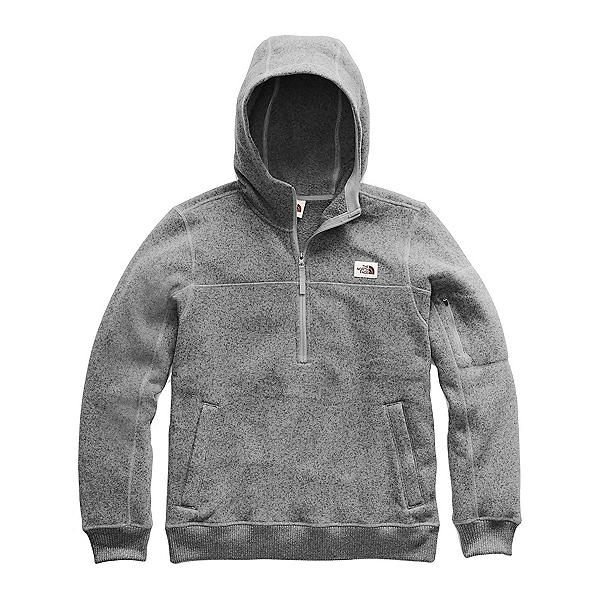 The North Face Gordon Lyons Pullover Mens Hoodie, TNF Medium Grey Heather, 600