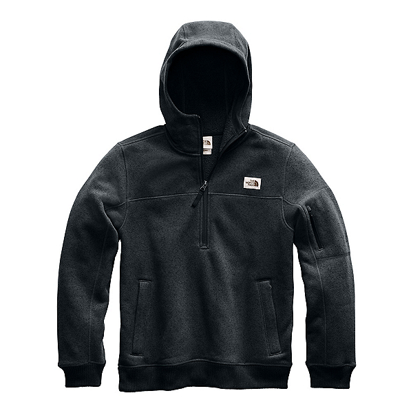 The North Face Gordon Lyons Pullover Mens Hoodie, TNF Black Heather, 600