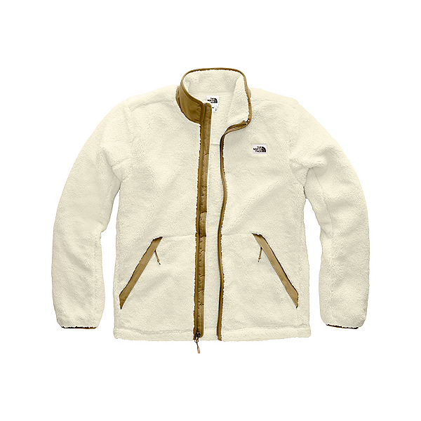 The North Face Campshire Full Zip Mens Jacket, Vintage White-British Khaki, 600