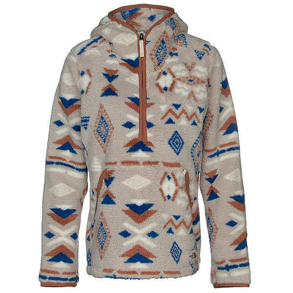 The North Face Campshire Pullover Hoodie 2.0 Womens Hoodie, TNF Blue California Geo Print, 600