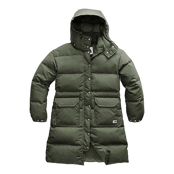 The North Face Down Sierra Parka Womens Jacket (Previous Season) 2020, New Taupe Green, 600
