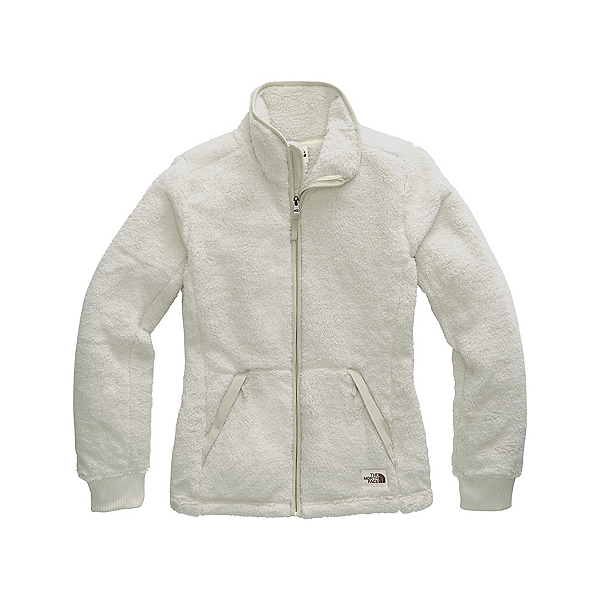 The North Face Campshire Full Zip Womens Jacket, Vintage White-Dove Grey, 600