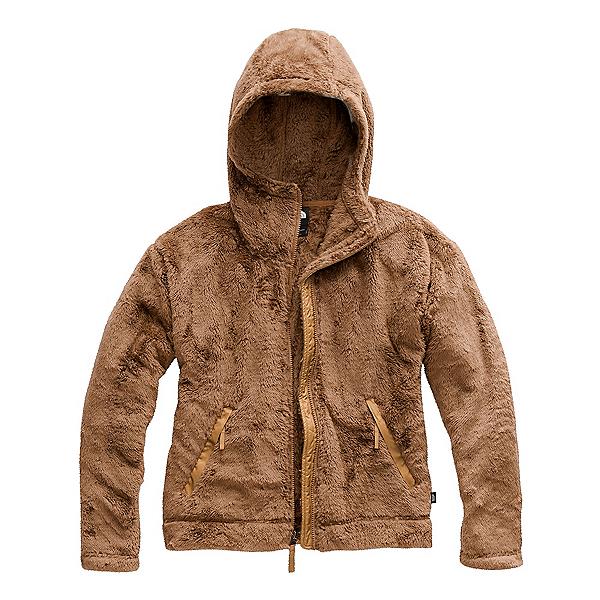 The North Face Furry Fleece Womens Hoodie (Previous Season) 2020, Cedar Brown, 600