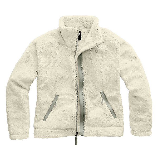 The North Face Furry Fleece 2.0 Womens Jacket, Vintage White-Dove Grey, 600