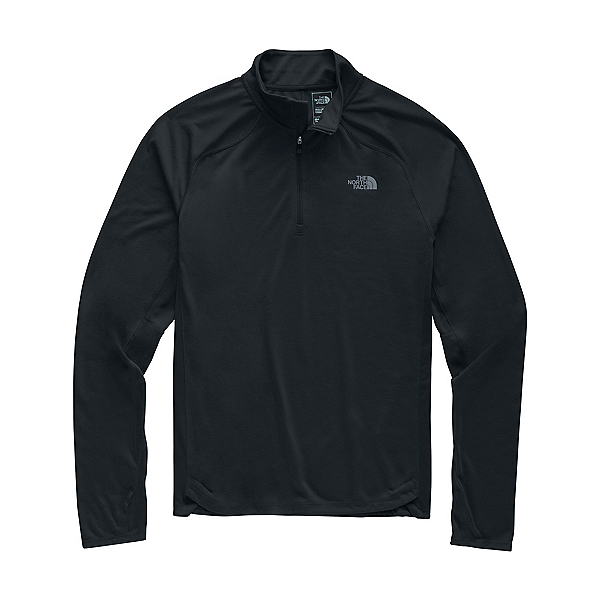 The North Face Essential 1/4 Zip Mens Mid Layer, TNF Black, 600