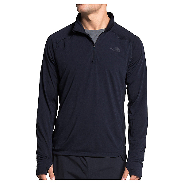 The North Face Essential 1/4 Zip Mens Mid Layer, Aviator Navy, 600