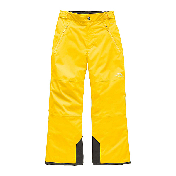 The North Face Freedom Insulated Kids Ski Pants, Vibrant Yellow, 600