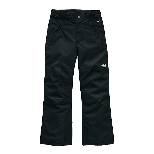 The North Face Freedom Insulated Kids Ski Pants, TNF Black-TNF Black, 600