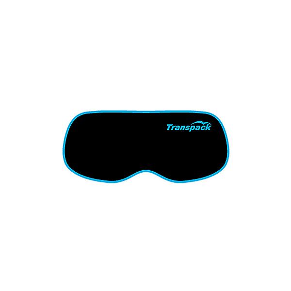 Transpack Goggle Cover Goggle Case, Black-Blue, 600