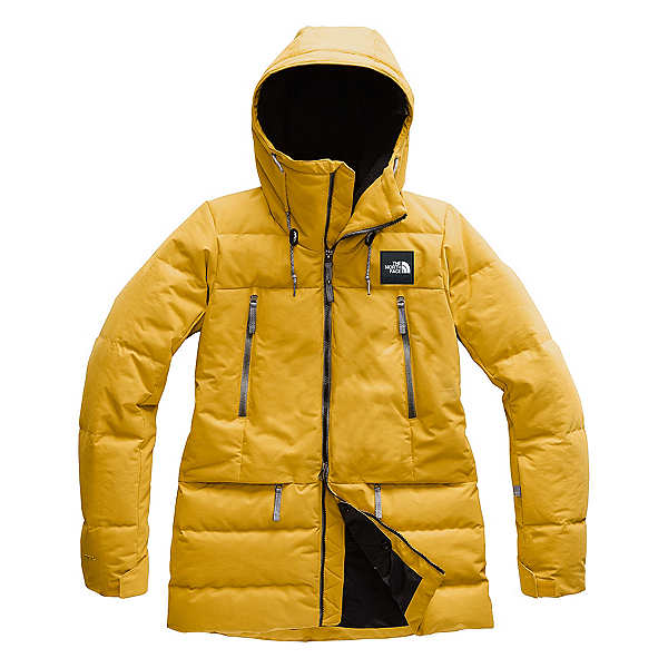 The North Face Pallie Down Womens Insulated Ski Jacket, Golden Spice, 600