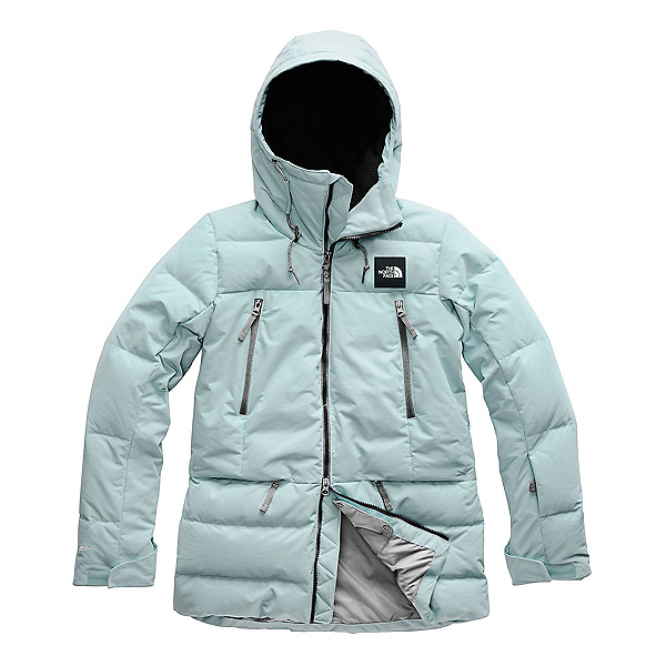 The North Face Pallie Down Womens Insulated Ski Jacket, Cloud Blue, 600